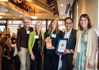 Award-Jane & Cynthia's family